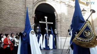 VÍDEO Semana Santa: Procesión de la Humildad en el Domingo de Ramos en Zaragoza