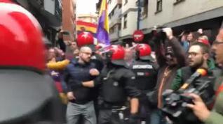 Elecciones generales: Tensión en Rentería, este domingo en un mitin de Rivera