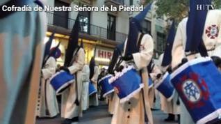 Una radiante noche de Martes Santo en Zaragoza
