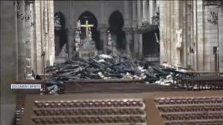 Incendio de Notre Dame de París: Así ha quedado el interior de esta joya del gótico europeo