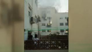 Un niño de 3 años, un bebé y su madre mueren en un incendio en L'Hospitalet
