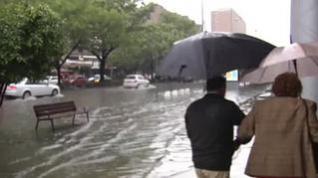 Semana Santa 2019 en Sevilla: numerosos problemas por las fuertes lluvias y la tormenta de granizo este Jueves Santo