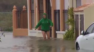 El temporal se ceba con el Levante, fuertes vientos y lluvias azotan Valencia y Murcia