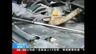 Una mujer halla una serpiente de casi tres metros en el motor de su coche