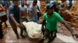 Más de 200 muertos en una cadena de ocho atentados en Sri Lanka