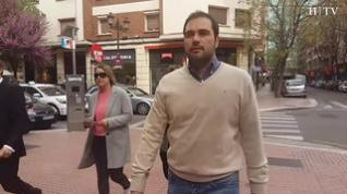 Elecciones generales: Un día de campaña con Rodrigo Gómez, candidato de Ciudadanos