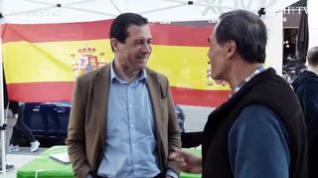 Elecciones generales: Un día de campaña con Pedro Fernández, candidato de Vox