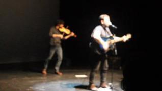 Francho Sarrablo, en el estreno de 'Mermelada de Moras'