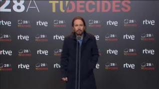 Iglesias lamenta que Sánchez no quiera aclarar si pactará con Ciudadanos