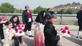 Los fragatinos celebran el Día de la Faldeta con sus mejores galas