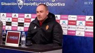 "Víctor Fernández, del Real Zaragoza: ""James será baja segura"""