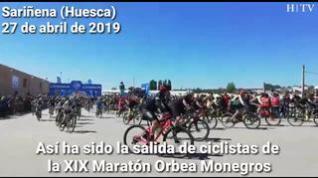 La fiesta del BTT ya rueda en los Monegros con la Maratón Orbea