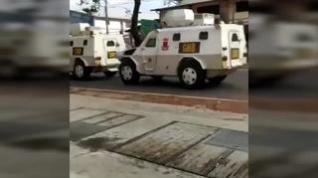 Así se están viviendo los enfrentamientos en la calles de Caracas