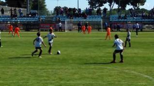 Jóvenes promesas del fútbol aragonés juegan el XI Torneo de San Jorge