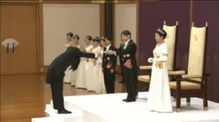Japón abre una nueva era imperial con la ascensión al trono de Naruhito