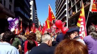 Miles de zaragozanos claman en las calles por la derogación de la reforma laboral
