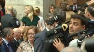 Tensión en el acto del Día de la Comunidad de Madrid