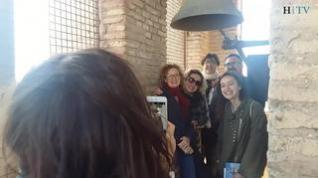 """Unas """"vistas espectaculares"""" desde la torre de la Magdalena de Zaragoza en la primera visita guiada"""