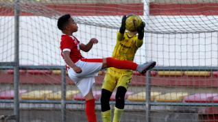 Fútbol. Benjamín Preferente- Hernán Cortés vs. Montecarlo.