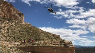 Herido grave tras caerse en un barranco de Teruel cuando hacía senderismo
