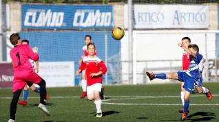 Fútbol. Alevín Preferente- Ebro vs. Venecia.