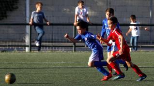 Fútbol. Benjamín Preferente- San Gregorio vs. San José.