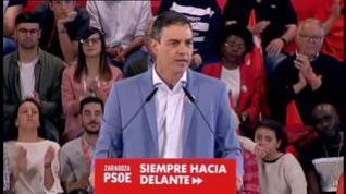 """Sánchez: """"Ni una, ni dos, ni tres siglas de la derecha frenarán la ola de futuro"""""""