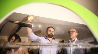 Abascal calienta motores en Zaragoza para la campaña del 26M