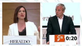 """Sara Fernández: """"Voy a terminar con 16 años de gobierno de izquierda con un gobierno de Ciudadanos"""""""