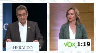 """Calvo a Alegría: """"Deje de preocuparse por Vox. Somos un partido normal y no un peligro para nadie"""""""