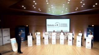 ¿Han aprobado los candidatos a la alcaldía de Zaragoza el test del debate de Heraldo?