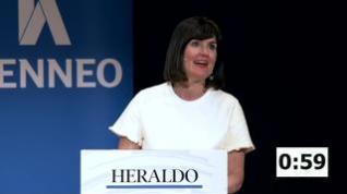 Minuto de oro de Elena Allué, candidata PAR Ayuntamiento de Zaragoza