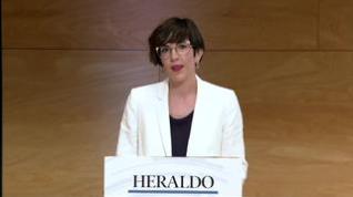Minuto de oro de Violeta Barba, candidata Podemos-Equo al Ayuntamiento de Zaragoza