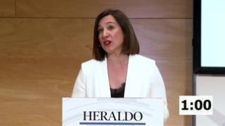 Minuto de oro de Sara Fernández, candidata de Ciudadanos al Ayuntamiento de Zaragoza