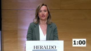 Minuto de oro de Pilar Alegría, candidata PSOE al Ayuntamiento de Zaragoza