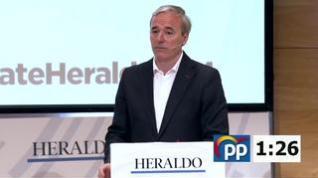"""Azcón: """"Ha llegado la hora de decir si Cs va a pactar con PP o está dispuesto a hacer que la izquierda continúe"""""""