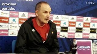 """Víctor Fernández, del Real Zaragoza: """"Puede ser un partido muy importante en cuanto al valor de los 3 puntos"""""""