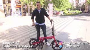 Ebike Red, una bicicleta plegable y eléctrica