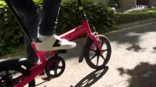 Hablamos de la Ebike Red, una bicicleta plegable y eléctrica