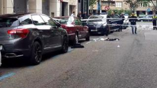 Un herido tras recibir al menos 4 puñaladas en el centro de Zaragoza a plena luz del día