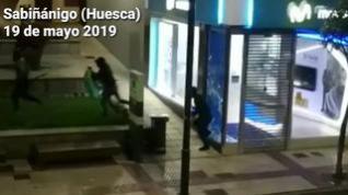 Roban en una tienda de telefonía móvil de Sabiñánigo, en Huesca