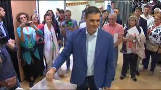 """Sánchez llama a la movilización para decidir el """"horizonte de bienestar"""" de España y Europa"""