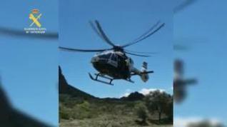 Rescatan a un escalador herido en Morata de Jalón