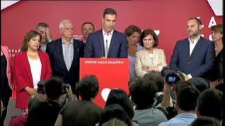"""Sánchez: """"Apelo a la responsabilidad para no dejar en manos de la ultraderecha la estabilidad"""""""