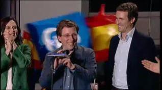 Euforia en el PP tras recuperar la alcaldía de Madrid
