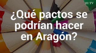 Así podrían pactar los partidos en Aragón