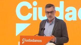 """Villegas al PSOE: """"El que quiera pactar con C'S tiene que renegar de las políticas de Sánchez"""""""