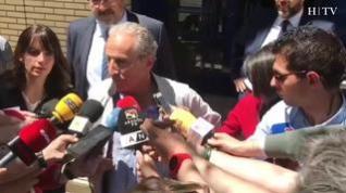 """Petón: """"Estamos aquí para defender la verdad, que tiene que amparar también a la SD Huesca"""""""