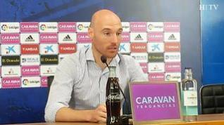 Toquero, del Real Zaragoza, se despide del fútbol