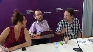 Pablo Iglesias destituye a Echenique como secretario de organización